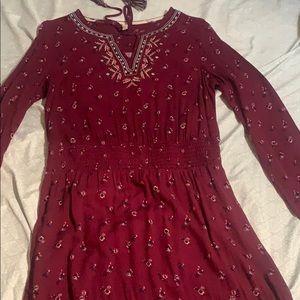 It's a dress not too long